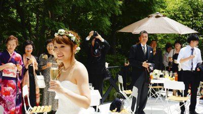 ウェルカムパーティ|ブランシュメゾンの結婚式