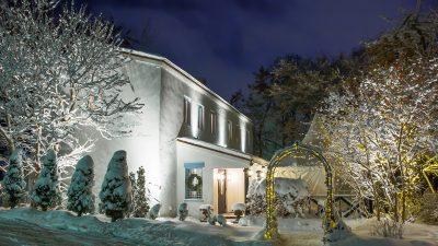 冬の結婚式|少人数のウエディングならブランシュメゾン