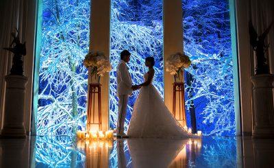 冬の挙式|ジャルダンドゥボヌール
