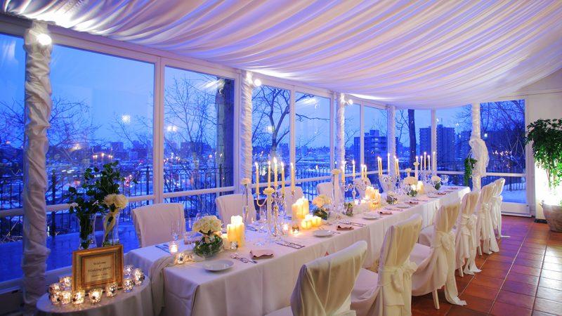 少人数の会食|ピエトラ・セレーナの結婚式