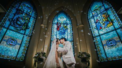 キリスト挙式|ローズガーデンクライスト教会