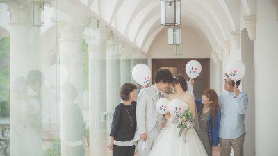 家族婚|ローズガーデンクライスト教会