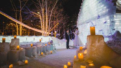 北海道|冬の結婚式|ジャルダンドゥボヌール