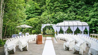 ガーデン|ジャルダンドゥボヌールの結婚式