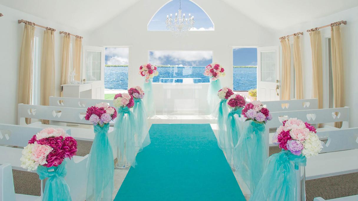 ハワイで結婚式ならアウリィラグーンチャペル