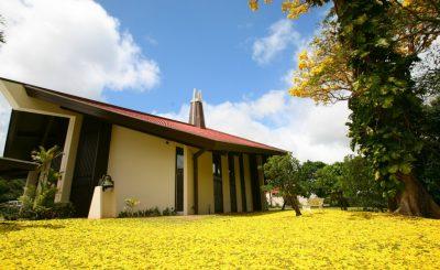 ヌアヌ・コングリゲーショナル教会で海外挙式