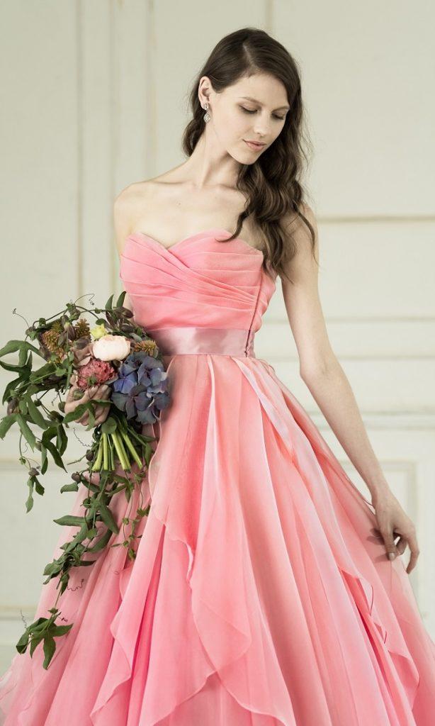 ローレルピンク|カラードレス