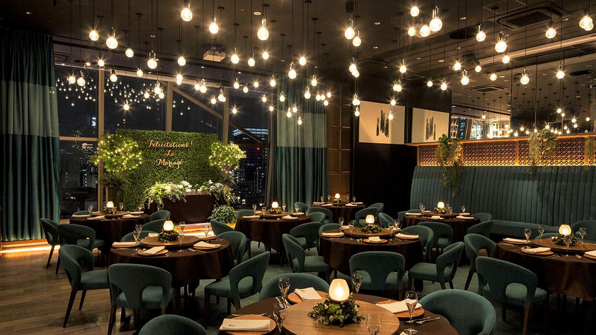 クロストーキョーのレストランウエディング|東京都港区でオーダーメイド結婚式