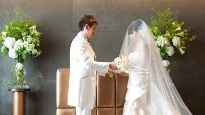 アイコニックの結婚式|銀座でレストランウエディング|挙式紹介