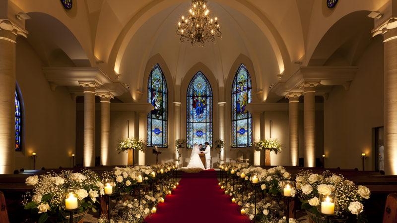 ウエディング通信 北海道リゾートで叶う本物のキリスト教式結婚式