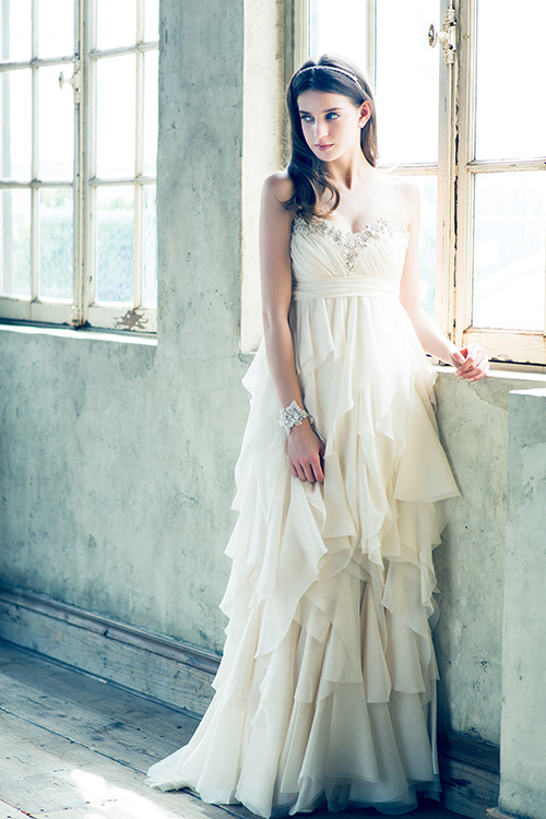 グランマニエのウエディングドレス|ノラ ブラッシュ|NORAH BLUSH