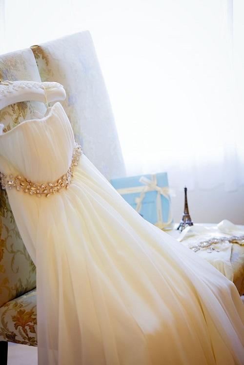 グランマニエのウェディングドレス|シルクハンガー