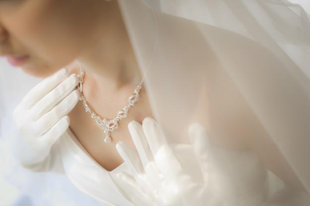 花嫁|ネックレス|イメージ写真