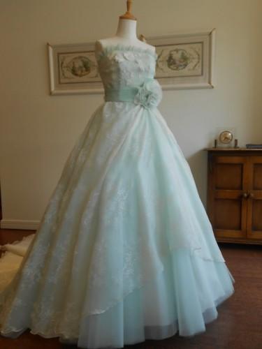 グランマニエのカラードレス|グリーン|緑