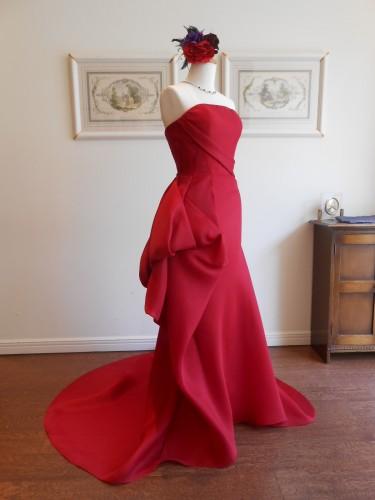 グランマニエのカラードレス|赤ドレス|ガザール