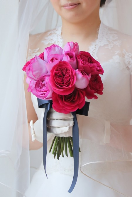 ローズブーケ|花嫁|クラッチ