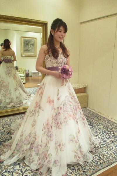 グランマニエのカラードレス|アストリッド|フィオクチュール
