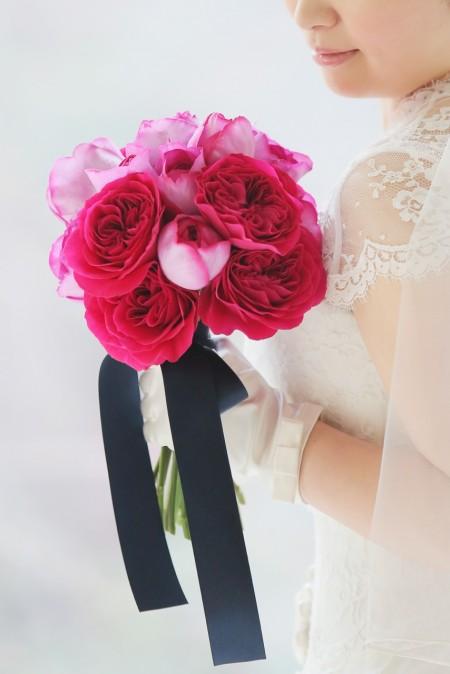 グランマニエのウエディングドレスとコーディネート