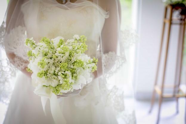 小花ブーケ|グランマニエのウエディングドレス