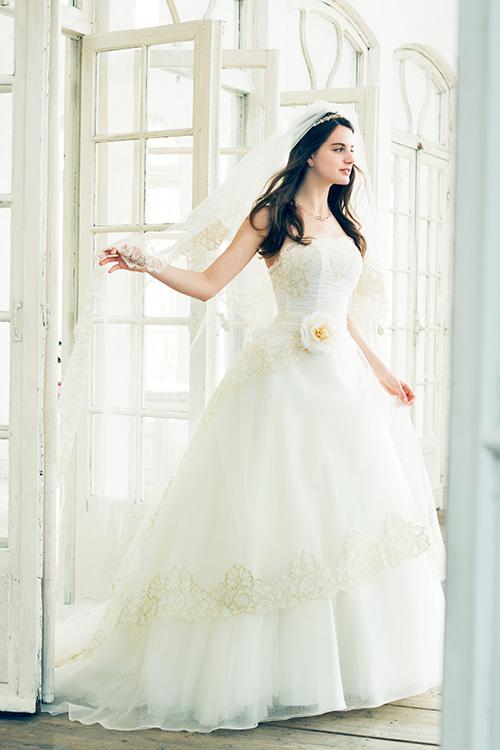 ウエディングドレス|レティシア|LEATITIA|プリンセスドレス