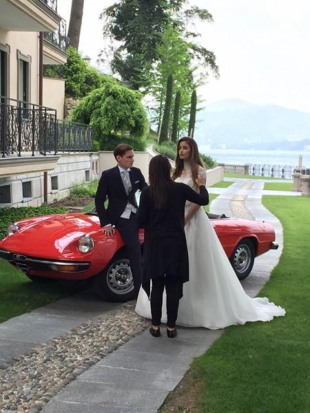 イタリアドレス撮影