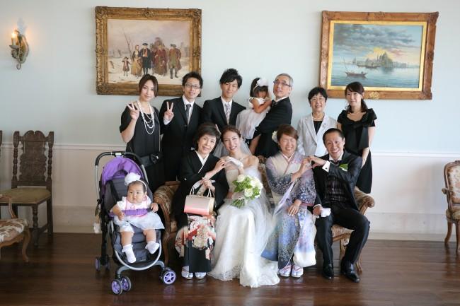家族写真|家族の衣裳