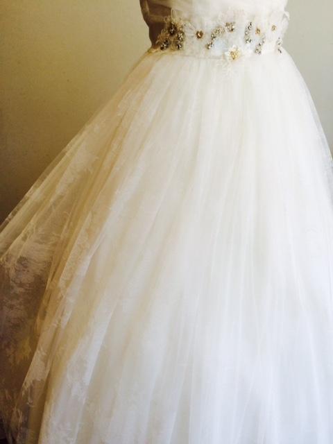 ウエディングドレス|ADA|エイダ|チュール|ハートカット