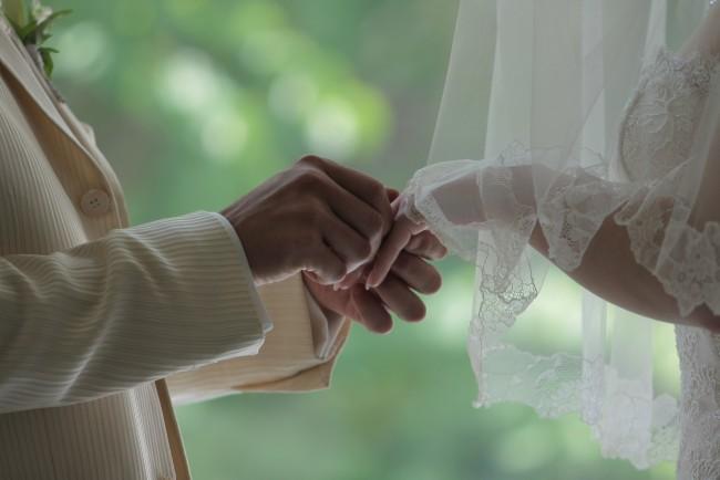 誓い|指輪交換
