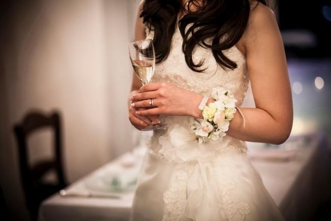 セパレートドレス|グランマニエのウエディングドレス