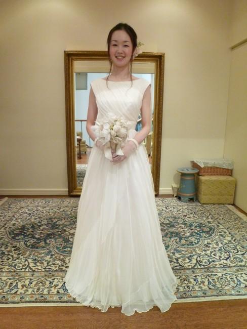 グランマニエのウエディングドレス|サンナ