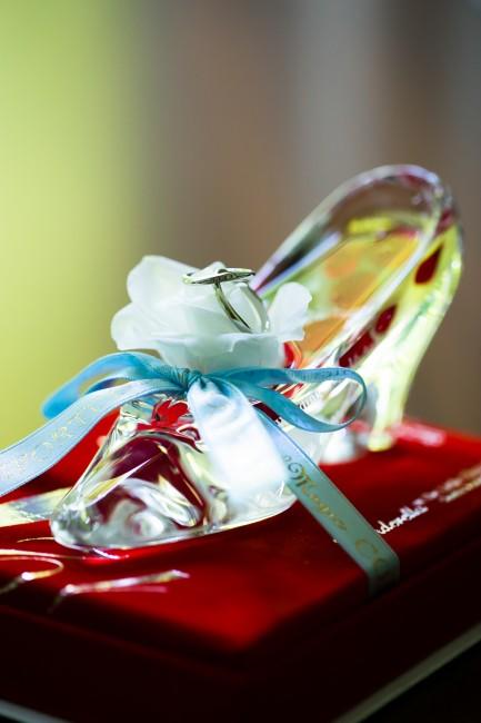 指輪|ガラスの靴
