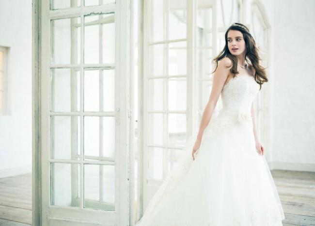 グランマニエのウエディングドレス|レティシア