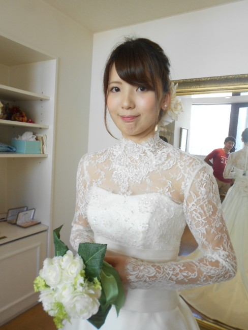 グランマニエのウエディングドレス|マリラ