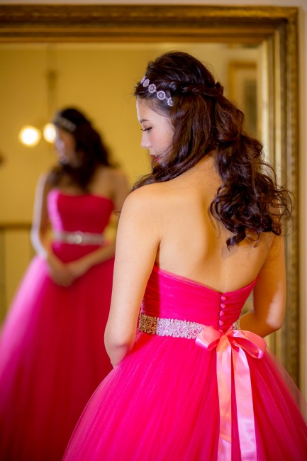 グランマニエのカラードレス|バレエピンク