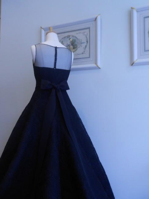 アドリアンヌ|黒のカラードレス