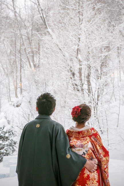 和装|冬景色