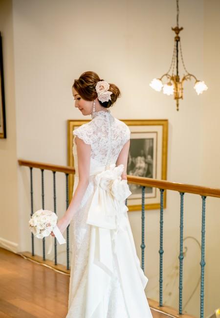 グランマニエのウエディングドレス|ラブ|アップスタイル