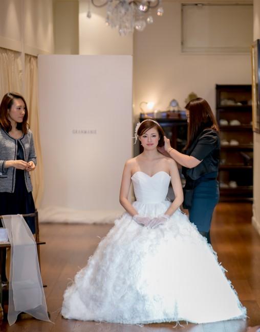 グランマニエのウエディングドレス|ヨーコ