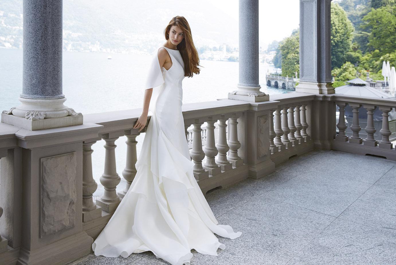 グランマニエウエディングドレス|ミカドシルク|ビアンカ