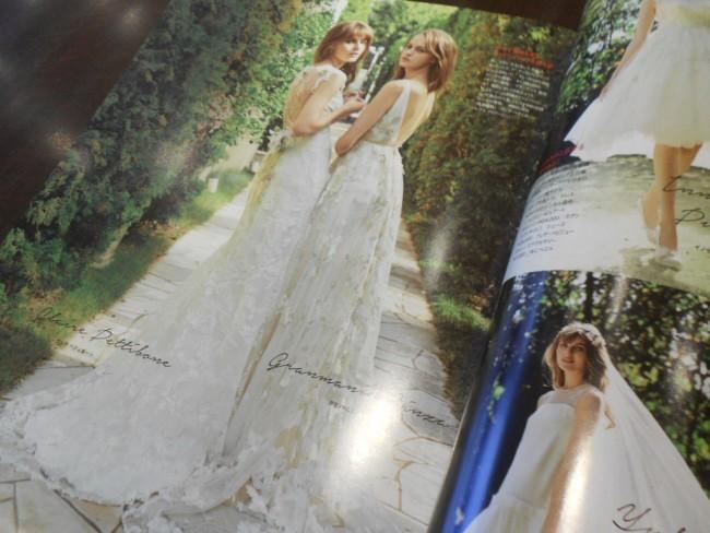 グランマニエのウエディングドレス|雑誌|エルマリアージュ