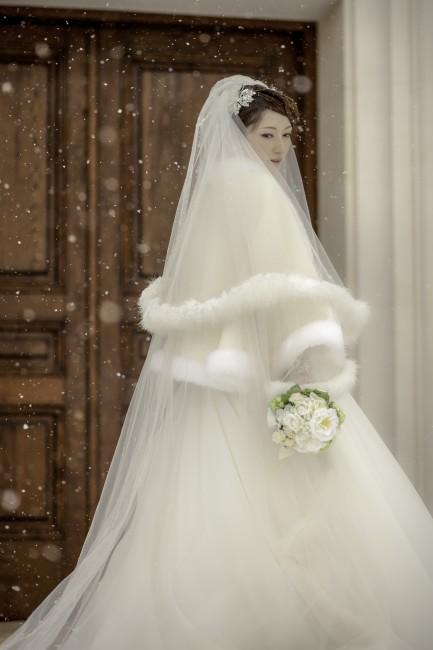 グランマニエのウエディングドレス|ファーベール|