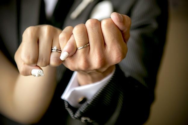 結婚指輪|新郎新婦