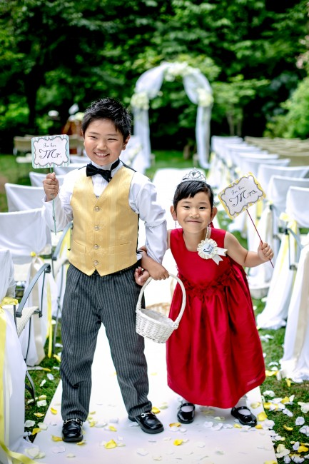 結婚式|フラワーガールフラワーボーイ|レンタルブティック21