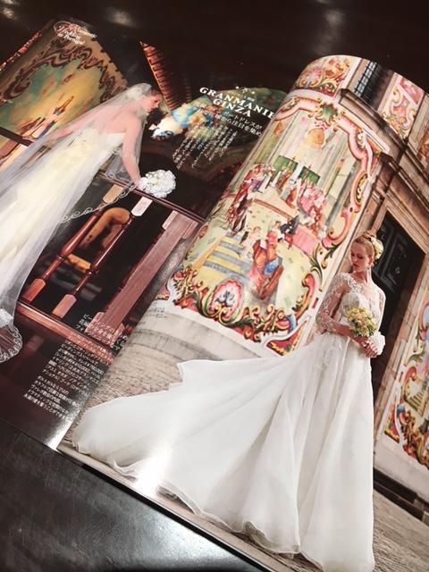 25ans雑誌掲載|ウエディングドレス2016春夏|グランマニエ