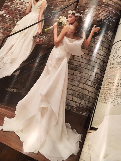 25ans雑誌掲載|ウエディングドレス2016春夏|グランマニエ|ビアンカ