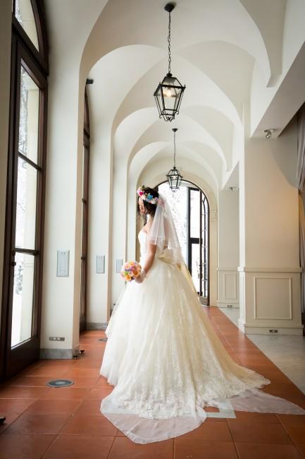 グランマニエのウエデングドレス|ファンティーヌ|チュールドレス