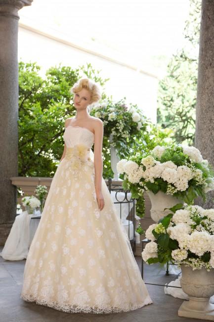 グランマニエのカラードレス|イエロー|エダイエロー