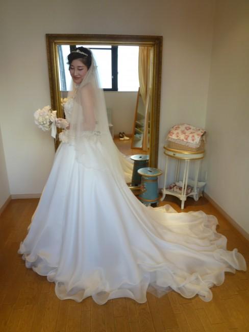 グランマニエのウエディングドレス|アレグラ