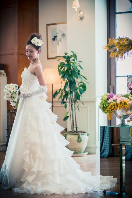 グランマニエのウエディングドレス|ジュノン