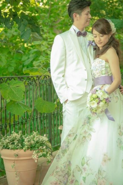 グランマニエのカラードレス|チョウタイ|アストリッド